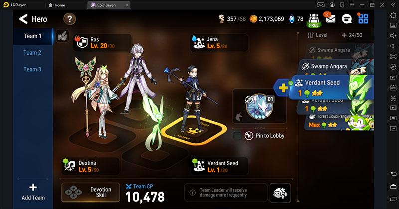 Best Teams for All PVE Battles in Epic Seven