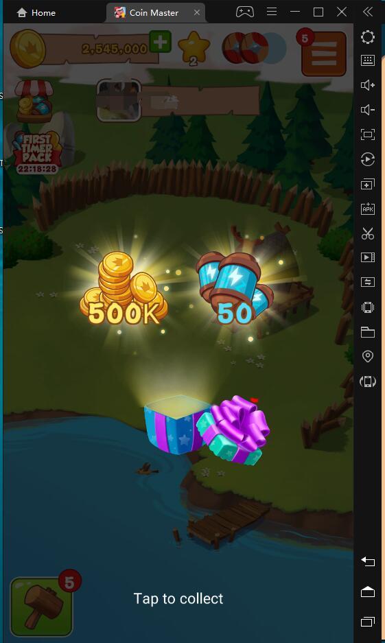 [Walkthrough] Quickly collect resources in Coin Master through LDPlayer!