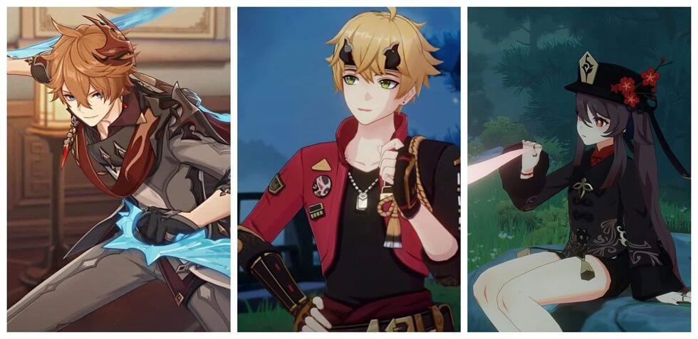 Genshin impact new banner characters