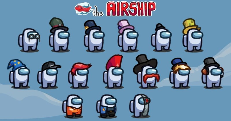 Among Us Update Released | Airship Map & New Accounts