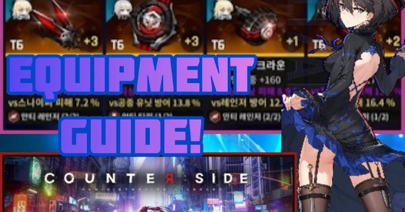 Counter Side | The Best Gear Guide