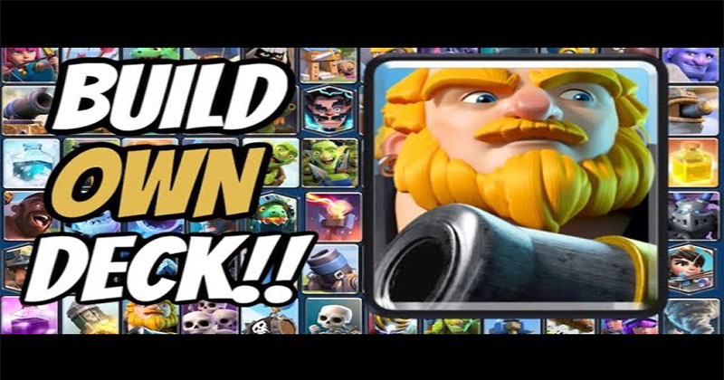 Clash Royale - How to Build your own deck 2020?