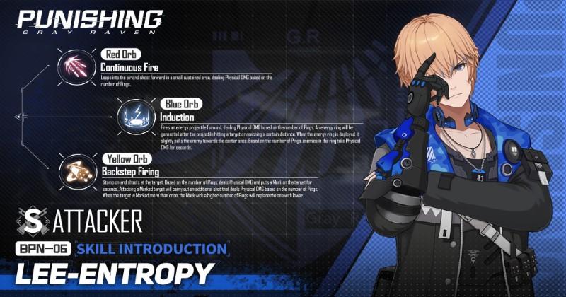 Punishing Gray Raven Lee Entropy D