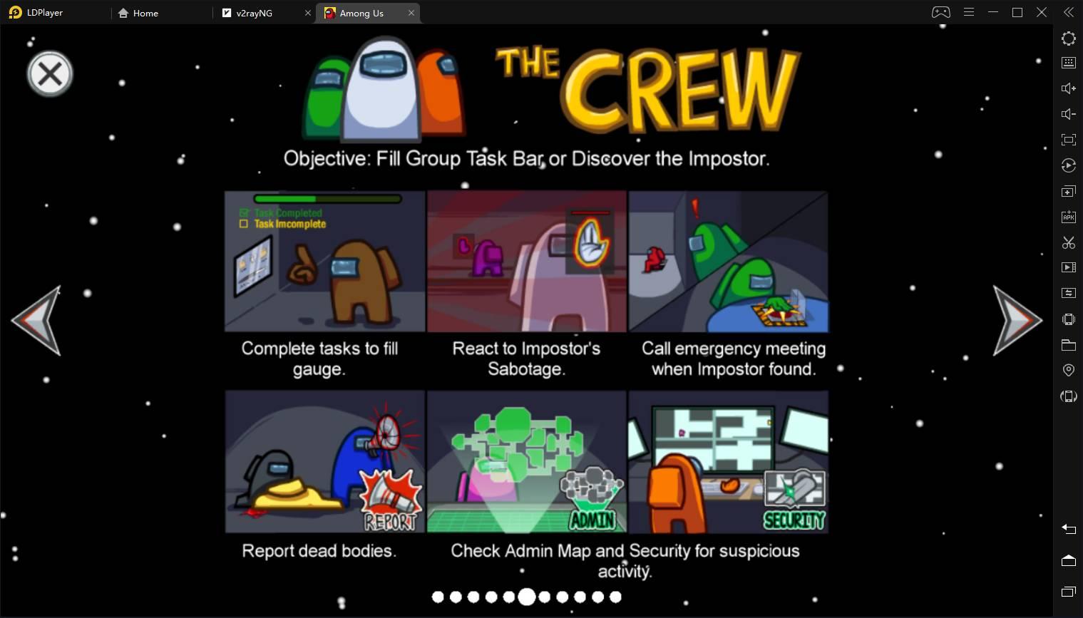 Tâches des crews