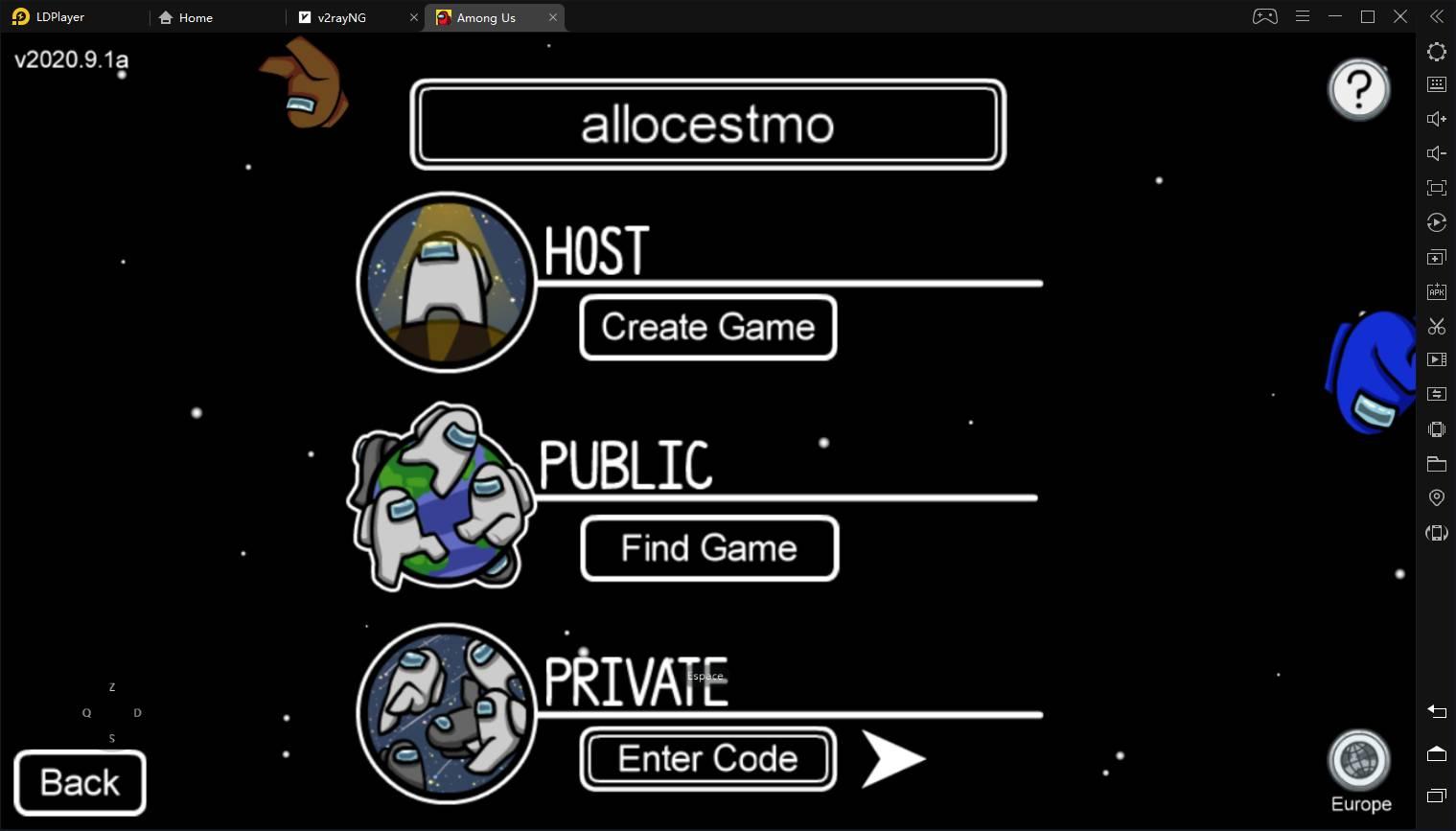 Rejoindre les autres joueurs en ligne Tuto Among Us