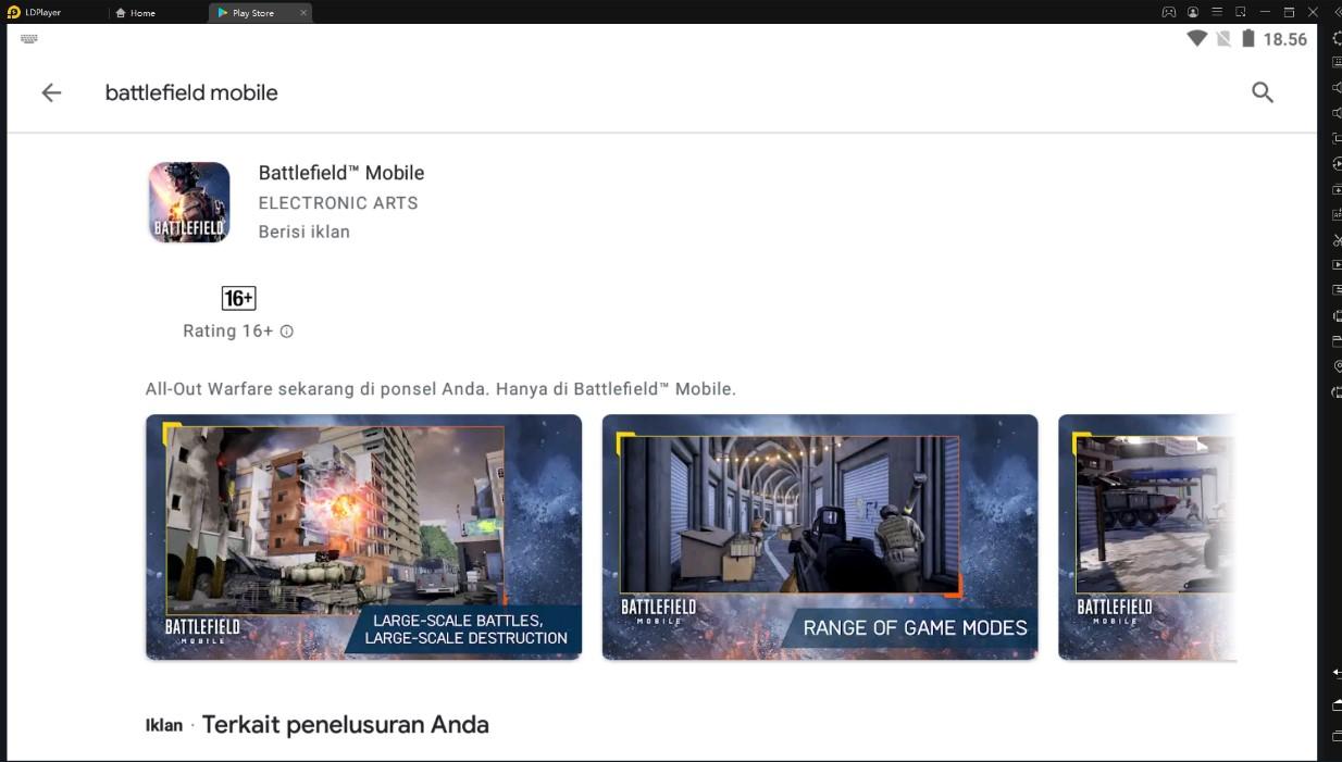 Tips dan Trik bermain Battlefield Mobile di PC