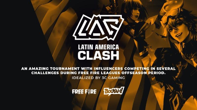 Free Fire Latin America Clash 2021: começará em 10 de maio