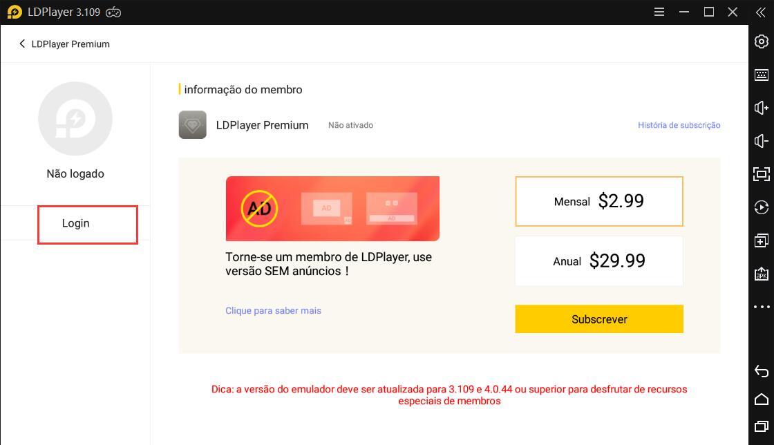 Introdução de Premium-LDPlayer