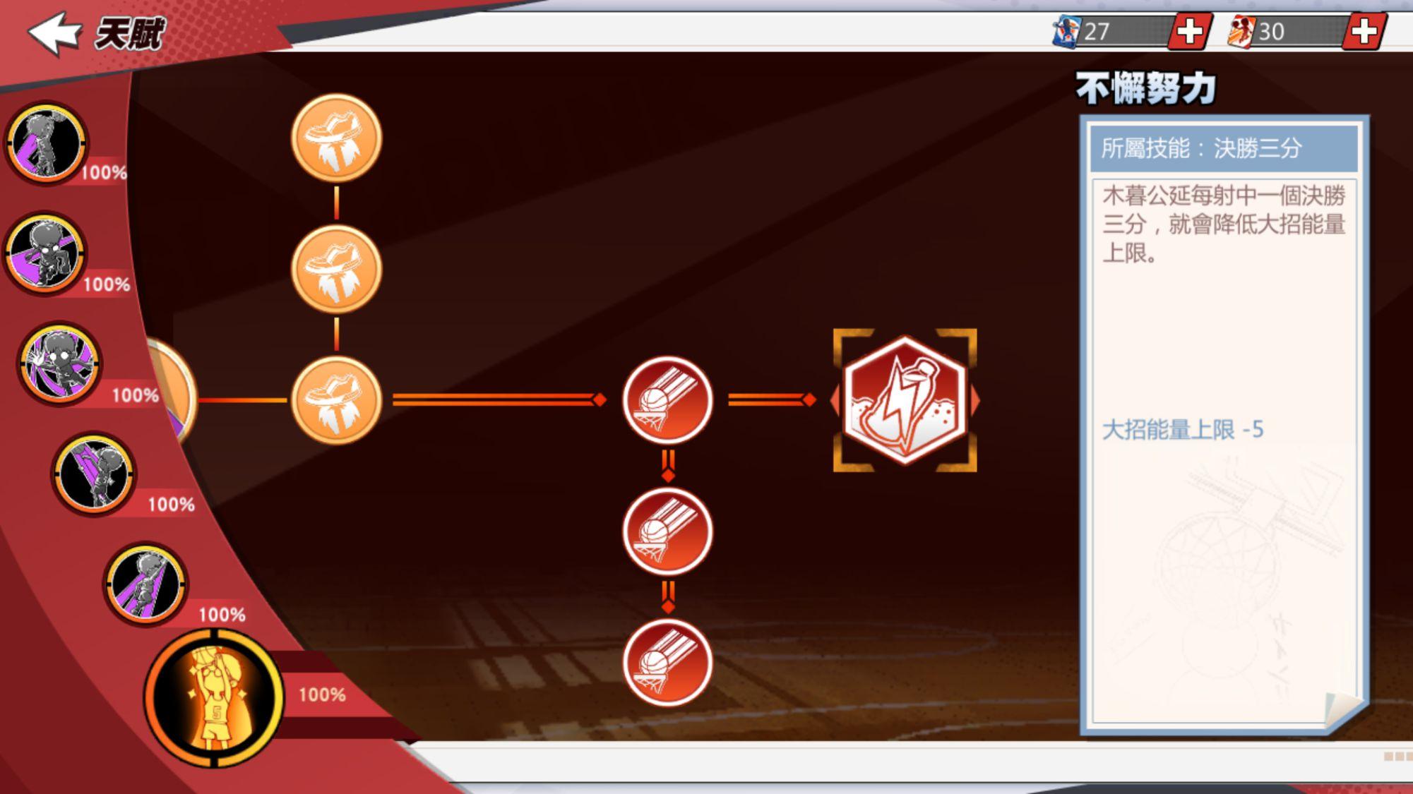 《灌籃高手 SLAM DUNK》木暮公延球員資料 天賦進階突破 亞洲盃資格選拔賽 火熱開打中!