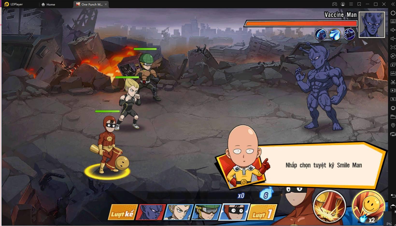 Chơi One Punch Man: The Strongest trên PC cùng LDPlayer